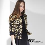 【克萊亞KERAIA】滿版印花七分袖外套