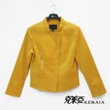 【克萊亞KERAIA】短版亮麗騎士外套