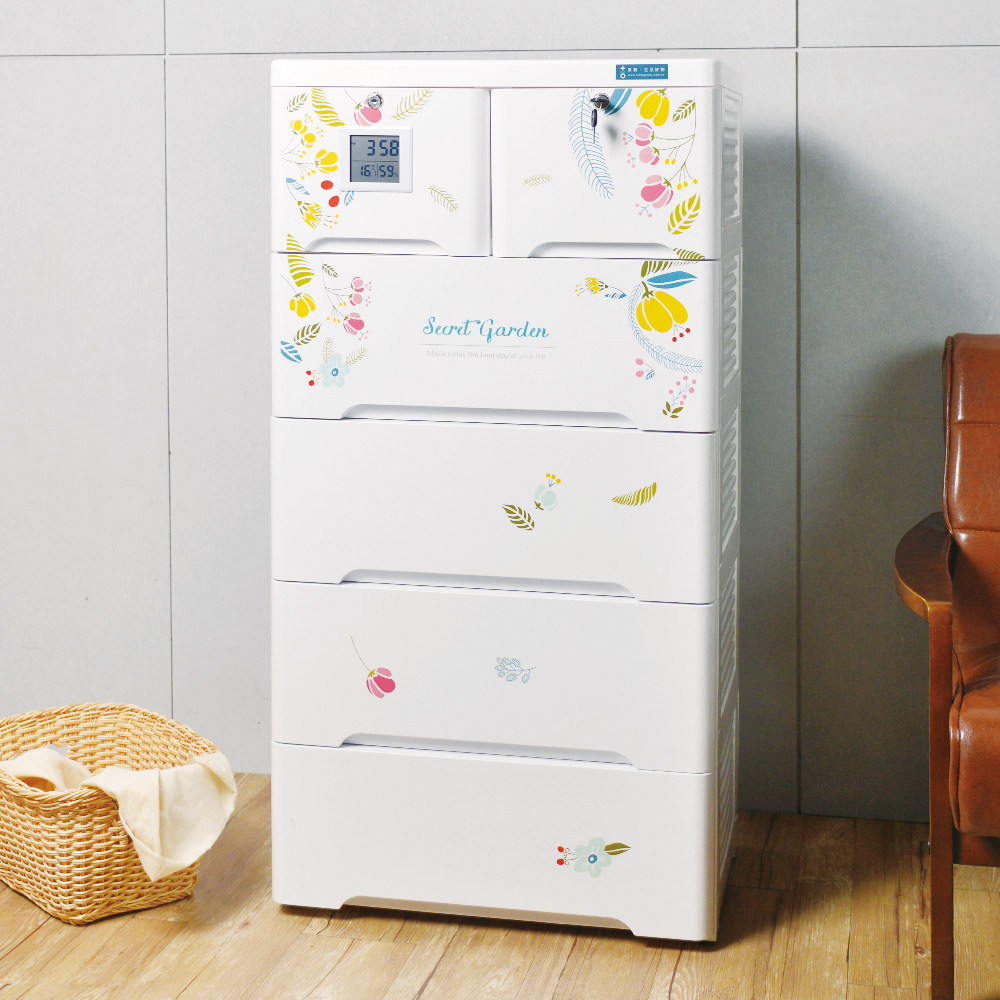 150L大容量 薇樂溫濕感測收納櫃