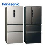 Panasonic 國際牌 610公升無邊框鋼板變頻四門冰箱NR-D619HV