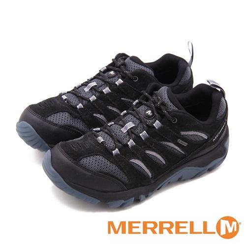 MERRELL WHITE PINE GORE-TEX防水專業功能健行登山 男鞋-黑(另有深灰、棕)