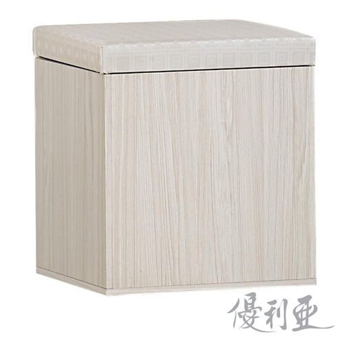 【優利亞-夏媞】置物化妝椅