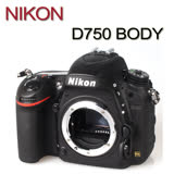 NIKON D750 BODY單機身(中文平輸)贈64G記憶卡+專用電池+專業吹球清潔5件組