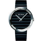ISSEY MIYAKE三宅一生PLEASE系列波紋概念腕錶    VJ20-0110W SILAAA01Y