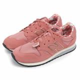NEW BALANCE 520系列 復古鞋 麂皮 粉紅色 花布 女鞋(窄楦) WL520AA no367