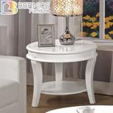 Bernice-費歐娜2尺古典橢圓型雙層小茶几