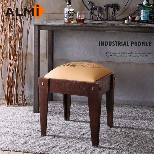 【ALMI】DOCKER PROFILE- STOOL INDUS 工業風椅凳(紅棕色)