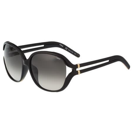 CHLOE 太陽眼鏡 氣質簍空(黑色)