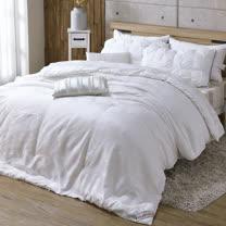 HOYACASA-送舒眠枕2入<BR> 日本原棉發熱羊毛被(雙人)