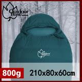 CP值爆表!輕量抗撕裂布 800g羽絨睡袋 登山睡袋 FP650+ Outdoorbase雪舞羽絨睡袋800g -OB22628
