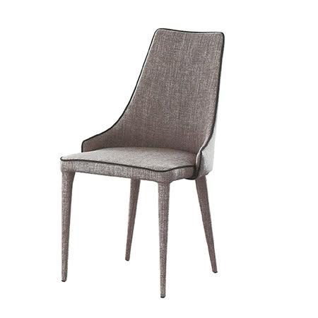 【ABOSS】Libby淺灰餐椅