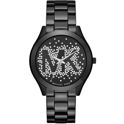 Michael Kors 璀璨魅力時尚腕錶 MK3589 黑42mm