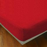 【YVONNE COLLECTION】單人純棉床包- 紅