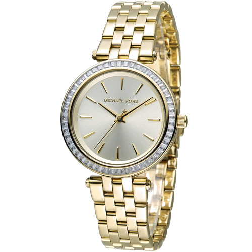 Michael Kors 紐約都會 Party Queen 時尚腕錶 MK3365 金色
