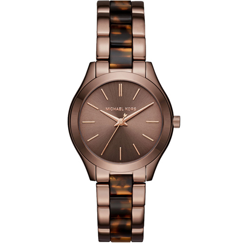 Michael Kors MK Hartman 咖啡經典時尚腕錶 MK3702