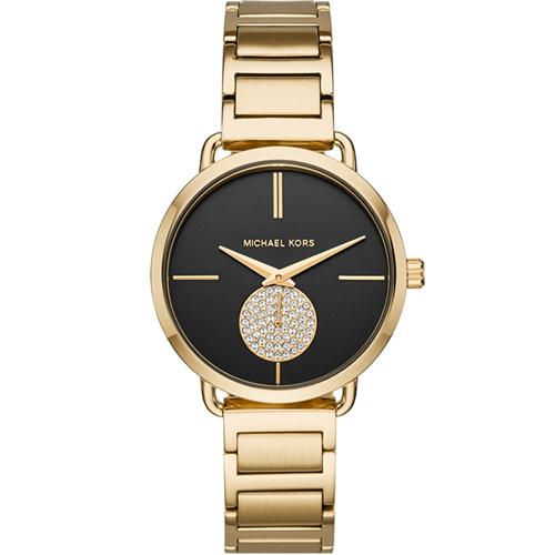 Michael Kors 紐約黑月亮時尚腕錶 MK3788