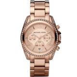 Michael Kors 自信風格計時腕錶 MK5263 玫瑰金色