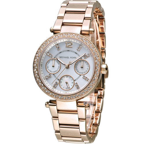 MICHAEL KORS 古典美學時尚腕錶 MK5616