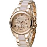 Michael Kors 自我風格晶鑽計時腕錶 MK5943