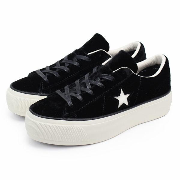CONVERSE 女 One Star Platform 帆布鞋 低統 ~ 558950C