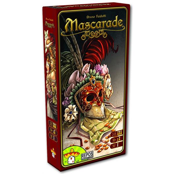 【新天鵝堡桌上遊戲】化裝舞會Mascarade