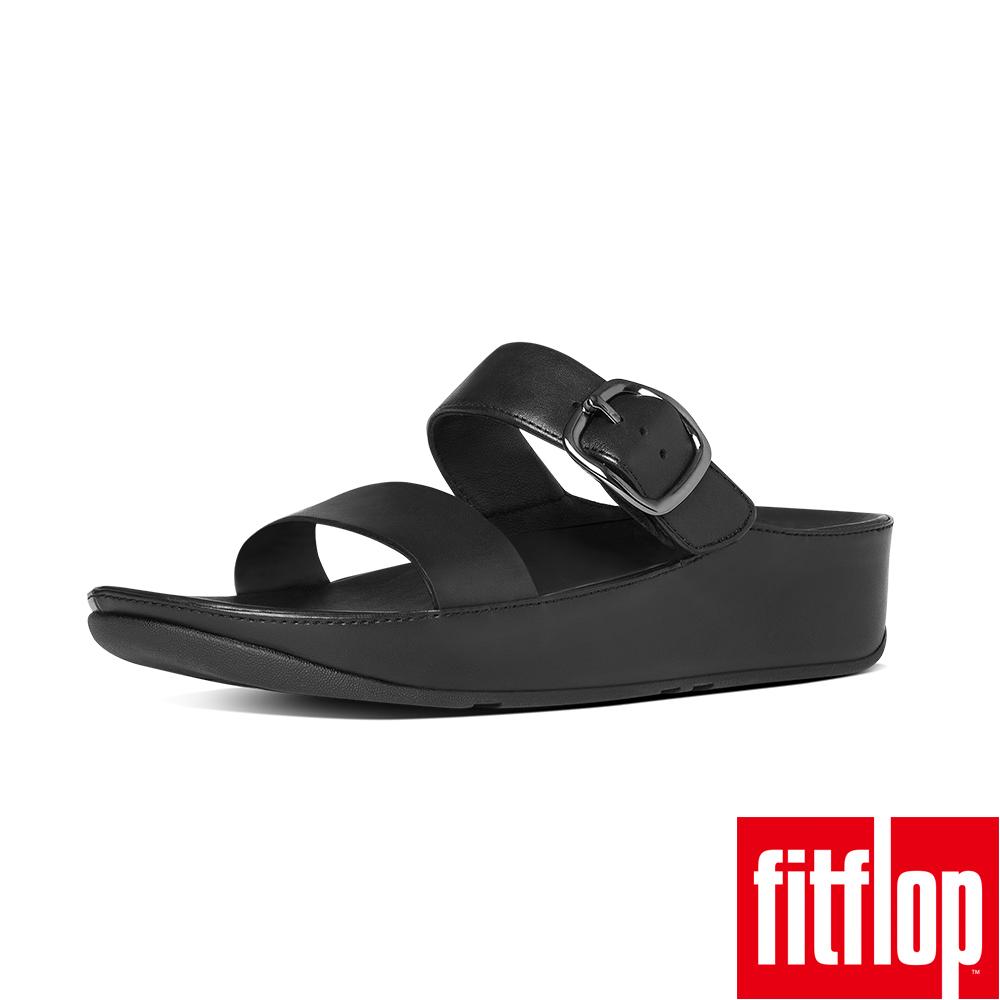 FitFlop - (女款)STACK SLIDE SANDAL-黑色