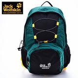 【飛狼 Jack Wolfskin】AMADA透氣網後背包(墨綠色)