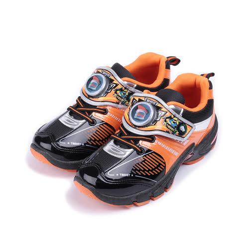 (中大童) 機器戰士 造型電燈運動鞋 橘 TOKX76348 童鞋 鞋全家福