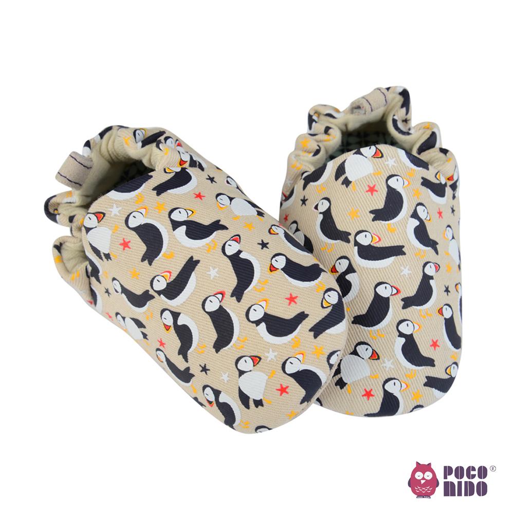 英國 POCONIDO 純手工柔軟嬰兒鞋 (海鸚鵡)