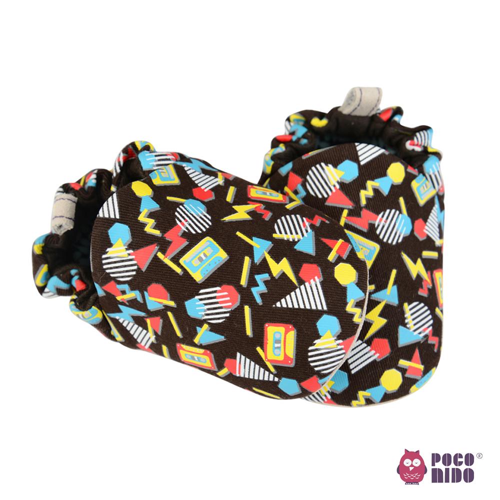 英國 POCONIDO 純手工柔軟嬰兒鞋 (復古小卡帶)