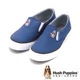 Hush Puppies CASUAL SLIP ON-Core系列 休閒鞋帆布鞋 女鞋-藍(另有鐵灰、紅)