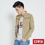 EDWIN 騎士短版夾克外套-男-淺卡其