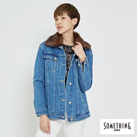 SOMETHING   復古重磅牛仔外套