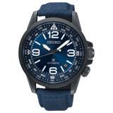 【SEIKO 精工】 PROSPEX 空軍風格時尚機械錶-藍/4R35-02N0B(SRPC31J1)