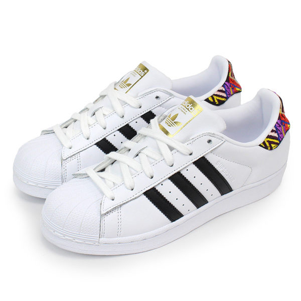 Adidas 女 SUPERSTAR W 愛迪達 經典復古鞋- AC8576