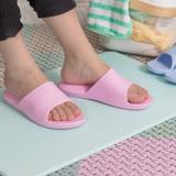 防水彈力UP氣墊拖鞋室內拖浴室拖 粉紅