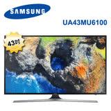 SAMSUNG 三星 40吋4K聯網LED液晶電視 UA43MU6100WXZW