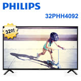 PHILIPS飛利浦 32吋 HD 液晶顯示器+視訊盒 32PHH4092