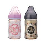 【日本ChuChu】PPSU寬口奶瓶160ml-蕾絲女孩/酷勁男孩