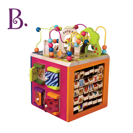 美國B.Toys 滑稽馬戲團