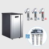 【德克生活】HS-68櫥下冰冷熱三溫飲水機(免安裝費+贈RO 5道式過濾器)