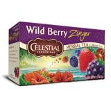 【Celestial Seasonings 詩尚草本】野莓活力茶®2盒優惠組(20包 x 2)