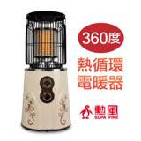 【勳風】360度熱循環電暖器(HF-012H)