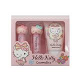 Hello Kitty護手霜+潤色唇膏禮盒組