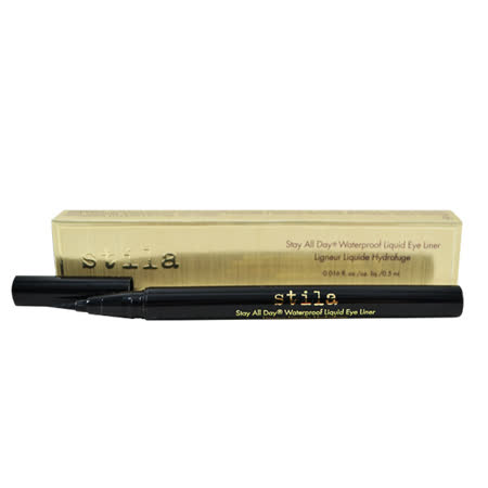 Stila Stay All Day 系列 防水眼線液 #Instanse Black 0.5ml Waterproof Liquid Eye Liner(金色紙盒)