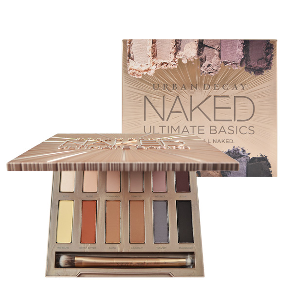 Urban Decay 12色霧面裸色眼影盤 (附眼影刷) Naked Ultimate Basics