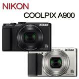 【夜殺】NIKON COOLPIX A900(公司貨)贈專用電池+清潔組+讀卡機+軟管小腳架+保貼