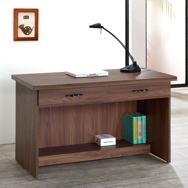 《Homelike》昆特4尺二抽書桌