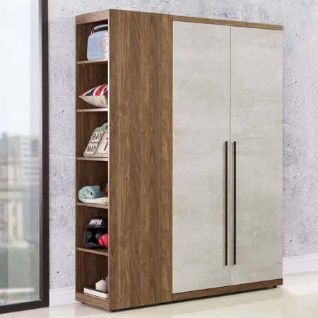 Homelike 伊格3.7尺衣櫃