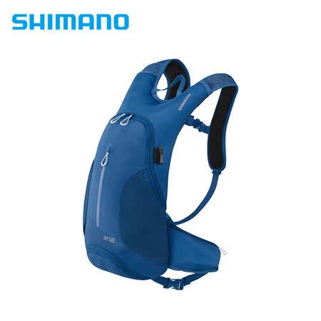 SHIMANO ROKKO 全功能背包-無水袋 12L 莊園藍